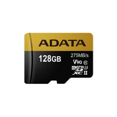MEMORIA MICRO SD ADATA 128GB CLASE 10 C/ADAPT. (AUSDX128GUII3CL10-CA1)