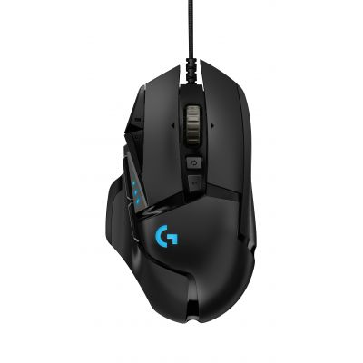 MOUSE ALAMBRICO LOGITECH G502 HERO NEGRO 11 ALAMBRICO OPTICO 16000 DPI