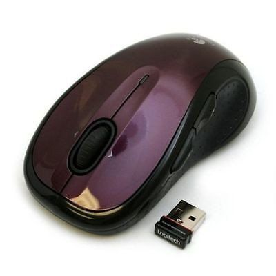 MOUSE LOGITECH M510 ROJO INALAMBRICO USB (910-004554)
