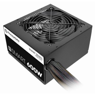 FUENTE DE PODER GAMING THERMALTAKE SMART 600W 600 W NEGRO