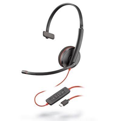 AUDIFONOS CON MICROFONO PLANTRONICS BLACKWIRE 3210 USB-C 209748-101