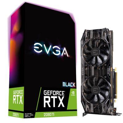 T.VIDEO EVGA NVIDIA GEFORCE RTX 2080TI BLACK EDITION GAMING 11GB GDDR6