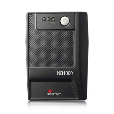 NO BREAK SMARTBITT USB 500W 1000VA 6 CONTACTOS 15 MIN RESPALDO