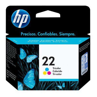 CARTUCHO HP 22 TRICOLOR PARA D1320/DSC1410 (C9352AL)