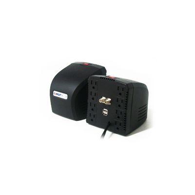 REGULADOR COMPLET RPLUS 1300VA 8CONT 2USB A 5V 1COAXIAL ERV-6-006