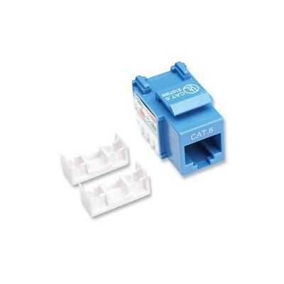 JACK INTELLINET CAT 6 ÿDE IMPACTO (KEYSTONE) AZUL 210737