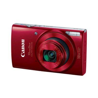 "CAMARA CANON POWERSHOT ELPH 190 IS 20MPX LCD 2.7"" ZOOM 4x VID HD ROJA"