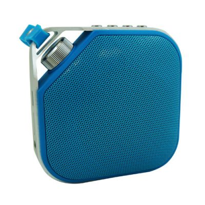 BOCINA NACEB TECHNOLOGY NA-598 AZUL COLOR AZUL UNALAMBRICA BLUETOOTH