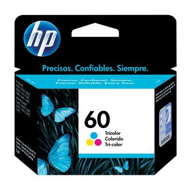 CARTUCHO HP 60 TRICOLOR PARA D1660/2660  F4400 (CC643WL)