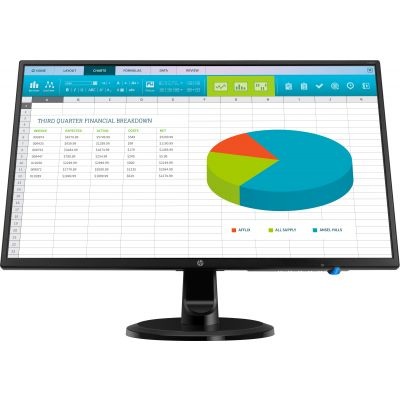 MONITOR HP N246V LED 23.8'' FULL HD WIDESCREEN HDMI NEGRO1RM28AA