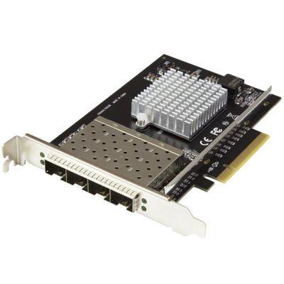 TERJETA DE RED INTERNA STARTECHPEX10GSFP4I 4XSFP 10GBPS PCI-E