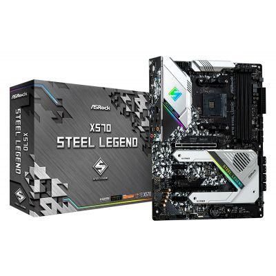 TARJETA MADRE ASROCK X570 STEEL LEGEND AM4 RYZEN GEN/3 PCIe/4.0