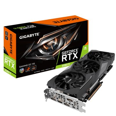 TARJETA DE VIDEO GIGABYTE GEFORCE RTX 2080Ti 11GB GDDR6 GV-N208TGAMING
