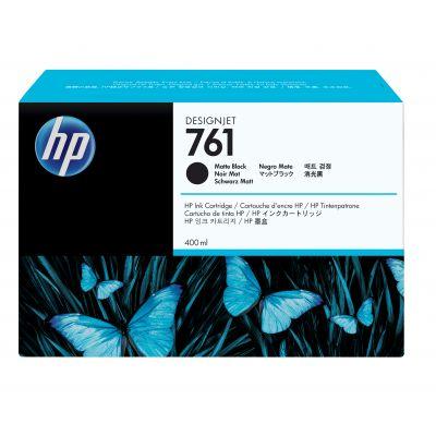 CARTUCHO DE TINTA DESIGNJET HP 761 400ML NEGRO MATE CM991A CM991A