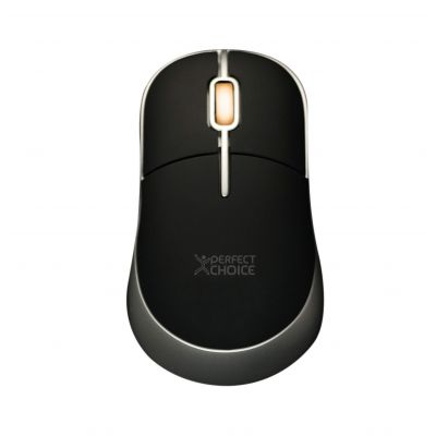 MOUSE PERFECT CHOICE PC-043782 ALAMBRICO OPTICO USB NEGRO 800 DPI