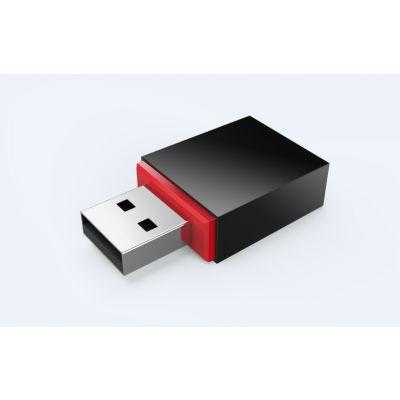 ADAPTADOR USB INAL TENDA U3 USB 2.0 300 MBIT/S INAL NEGRO