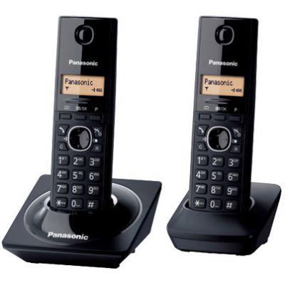 TELÉFONO INALÁMBRICO PANASONIC ESCRITORIO, NEGRO, ALTAVOZ PANTALLA LCD
