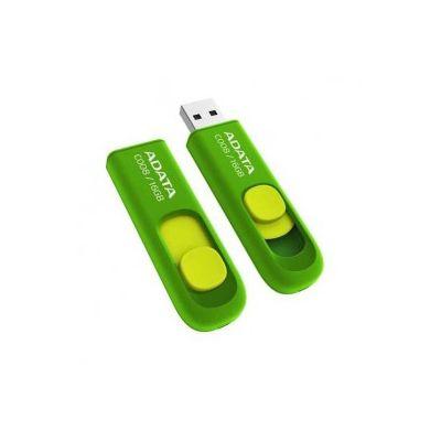 MEMORIA FLASH USB ADATA C008 16GB RETRACTIL VERDE