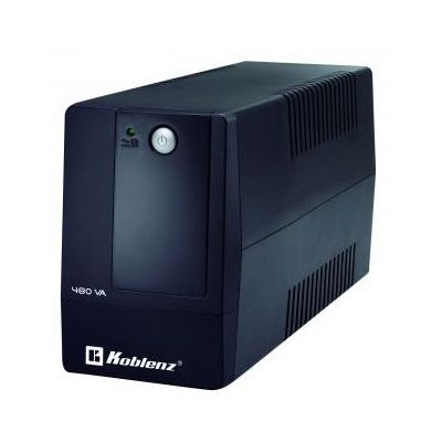 NO BREAK KOBLENZ 4816 USB/R-480 VA 240 W COLOR NEGRO HOGAR/OFICINA