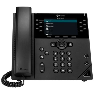 TELEFONO POLYCOM VVX 450 POLYCOM 2200-48840-025 SI SI 12 LINEAS