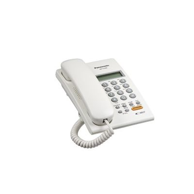 TELÉFONO DIGITAL PANASONIC KX-T7705X BLANCO, LCD, PARED