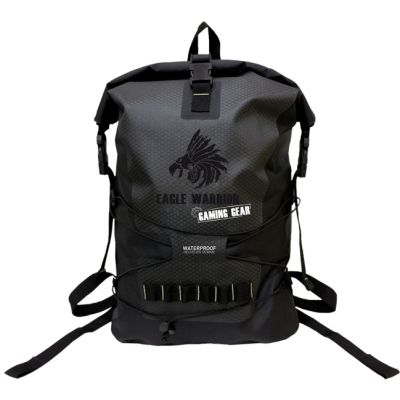 MOCHILA EAGLE WARRIOR GAMER COLOR NEGRO/GRIS ABACKPACK0001EGW
