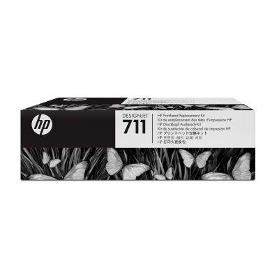 CABEZAL DE REEMPLAZO HP, NUM 711 CYAN, MAGENTA, AMARILLO C1Q10A