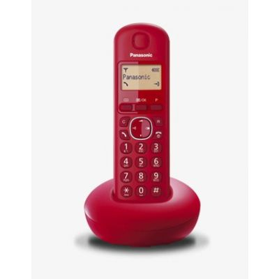 TELEFONO INALAMBRICO PANASONIC KX-TGB210MER ROJO LCD