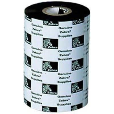 ZEBRA RIBBON DE CERA 84mm X 74MTS FORMULACION 5319 (05319GS08407)