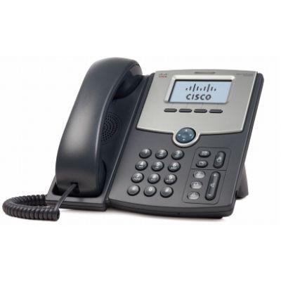 TELEFONO CISCO IP DE 1 LINEA PANTALLA SPA502G POE Y PC 2X RJ-45 NEGRO
