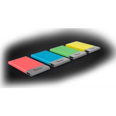 POWER BANK BLACKPCS COLORS 5000 MAH AZUL (EPBB2-5000)