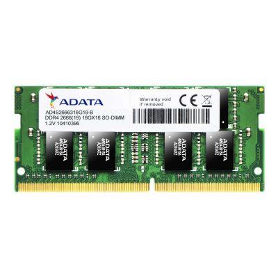 MEMORIA RAM ADATA 8GB DDR4 SODIMM 2666MHZ AD4S266638G19-S