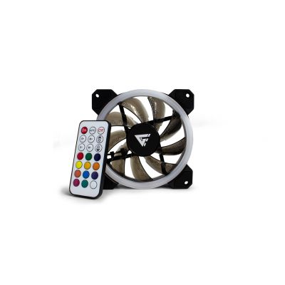 KIT DE 3 VENTILADORES GAMER GAME FACTOR 120MM RGB FKG400