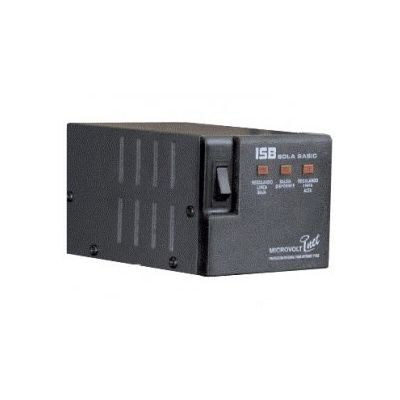 REGULADOR SOLA BASIC MICROVOLT INET DN-21-202, 2000VA/1800W, 4 CONTACT
