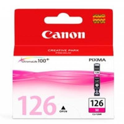 CARTUCHO CANON CLI-126 MAGENTA 210 PÁGINAS 4563B001AA