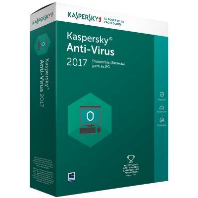 ANTIVIRUS KASPERSKY 5 USUARIOS 1 AÑO TMKS-169 (KL1171ZBEFS)