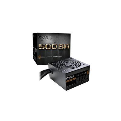 FUENTE DE PODER EVGA 100-BR-0500-K1 500W 80 PLUS BRONCE