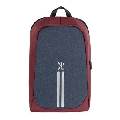 "MOCHILA PERFECT CHOICE ANTIRROBO VAULT 15.6"" UNIVERSAL ROJA PC-083498"