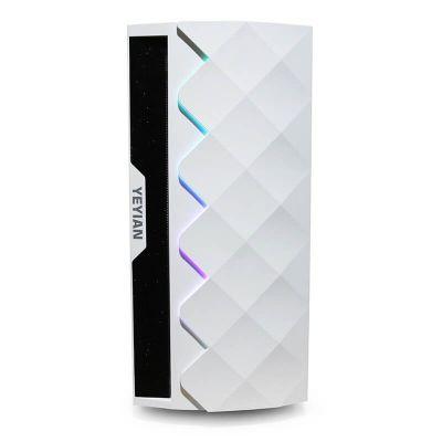 GABINETE YEYIAN YGA-49702 ABYSS 2500 ATX C/T 3VEN RGB2 USB3.0 BLANCO