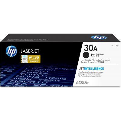 CARTUCHO DE TÓNER ORIGINAL HP LASERJET 30A NEGRO 1600 PAG (CF230A)