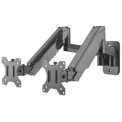 SOPORTE PARA MONITOR MANHATTAN 2 MONITORES PARED PISTON 461627