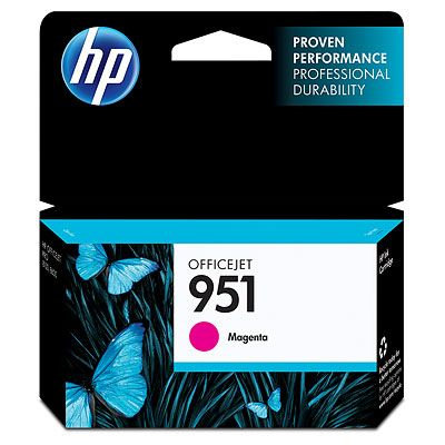 CARTUCHO HP 951 MAGENTA OFFICEJET PARA 8600/K8600/8600+/8100 (CN051AL)