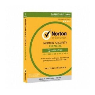 ANTIVIRUS NORTON ESENCIAL 1 LICENCIA 1 AÑO(S). 21378179