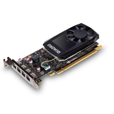 TARJETA DE VIDEO PNY VCQP1000-PB QUADRO NVIDIA P1000 4GB GDDR5