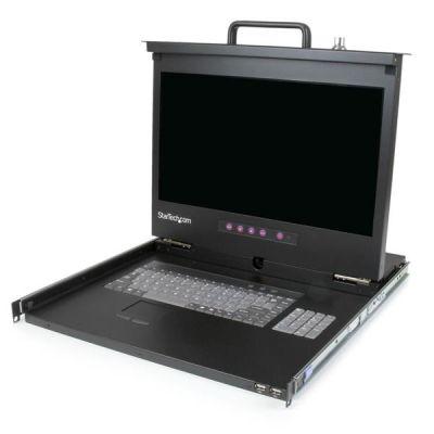 CONSOLA RACK 1U LCD 17 1080P  HUB USB FRONTAL  STARTECH RACKCONS17HD