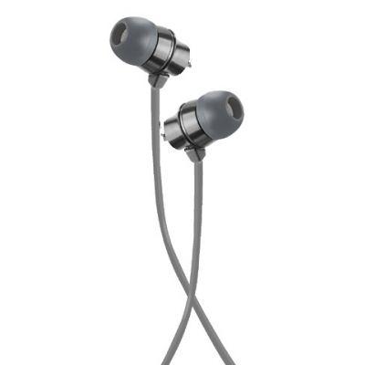 AUDIFONOS ACTECK IN-EAR CON MICROFONO METALICOS GRIS MB-02017