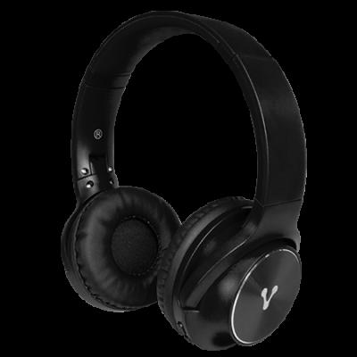 DIADEMA BLUETOOTH VORAGO HPB-200 FM/MSD PLEGABLE NEGRO