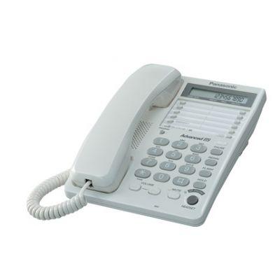 TELEFONO PANASONIC ESCRITORIO KX-TS108MEW BLANCO PANTALLA LCD ALTAVOZ