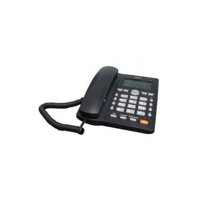 TELEFONO ALAMBRICO WAM AS7412-B(W) ANALOGICA PARED/ESCRITORIO NEGRO