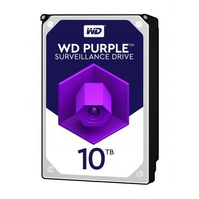 DISCO DURO INTERNO WD 10TB 3.5 WD101PURZ 256M SATA3 7200RPM PURPLE